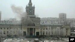 지난달 29일 폭탄 테러가 발생한 러시아 볼고그라드의 기차역.