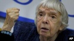 Nhân vật bất đồng chính kiến thời Liên Xô Lyudmila Alexeyeva.