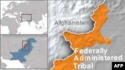 Bản đồ khu vực bộ tộc của Pakistan
