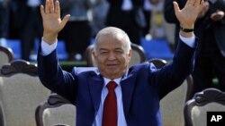 Presiden Uzbekistan, Islam Karimov hampir pasti terpilih kembali untuk masa jabatan keempat dalam pemilu Minggu 29/3 (foto: dok).