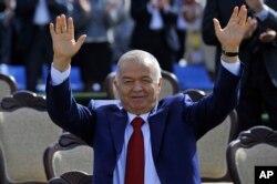 Islom Karimov Navro'z tantanasida, Toshkent, 21-mart, 2015