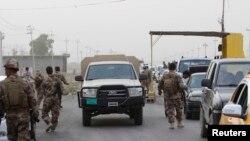 ایستگاه بازرسی نیروهای امنیتی کرد در حومه کرکوک - ۲۱ - خرداد ۱۳۹۳
