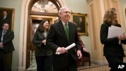 Лидер республиканского большинства в верхней палате Конгресса Митч Макконнелл
