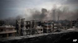 တိုက္ပြဲျပင္း Aleppo ၿမိဳ့က ေဒသခံေတြ ေဘးလြတ္ရာေျပး