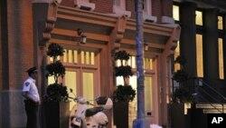 Placé en résidence surveillée, Dominique Strauss-Kahn vit dans cette maison, dans le quartier de Tribeca à New York.