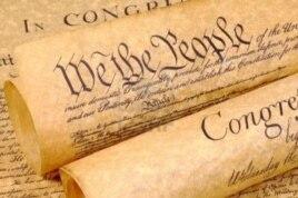 """美国独立宣言的开头是:""""我们,人民"""""""