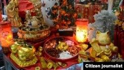 毛里求斯慶祝中國新年資料照。