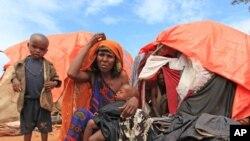 索馬里難民逃離乾旱地區