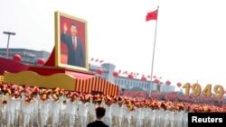 Diễu hành kỷ niệm 70 năm Quốc Khánh Trung Quốc tại Bắc Kinh.