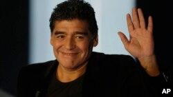 """Esta selección no jugó a nada"", dijo Diego Maradona."