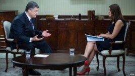 Президент Петро Порошенко і Мирослава Ґонґадзе
