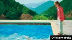 نقاشی «دیوید هاکنی» از مجموعه استخرها ۸۰ میلیون دلار ارزش دارد