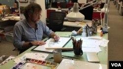 """Matt Wuerker, karikaturisti që është nderuar me çmimin """"Pulitzer"""""""