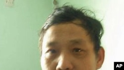 北京维权人士李金平(资料照片)