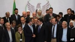 Hejmareke Berpirsên opozisyona Sûrîyê.