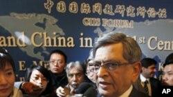 印度外貿部長在今年四月訪問北京(資料圖片)