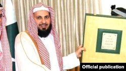 امام کعبہ شیخ صالح بن محمد ابراہیم