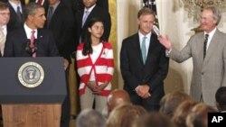 교육 개혁안을 제안한 바락 오바마 미 대통령