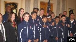В Санкт-Петербург приехали лучшие юные боксеры из США
