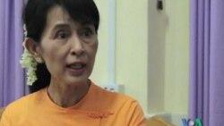 آنگ سان سو چی برنده جايزه سالانه روابط بين المللی چتهام هاوس شد