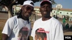 Namibe - activistas de combate ao HIV SIDA