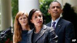 Сюзан Райс и Барак Обама