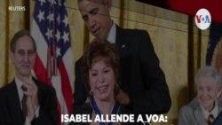 Isabel Allende conversa con la VOA