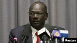 Menteri Informasi Sudan Selaran, Michael Makue Lueth, salah seorang pejabat yang dikenai sanksi pemerintah AS (foto: dok).