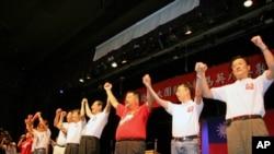 国民党访问团参加马吴后援会活动