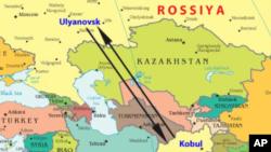 Ulyanovsk-Kobul yo'nalishi
