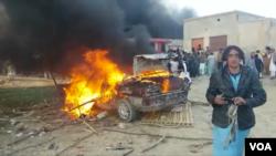 امن لشکر کے دفتر پر حملہ