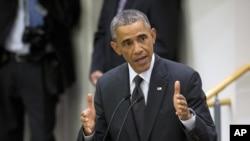 خطابه رئیس جمهور اوباما در مورد افت ایبولا
