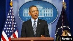 Tổng thống Hoa Kỳ Barack Obama đưa ra tuyên bố về tình hình Ukraina, tại Tòa Bạch Ốc 6/3/14