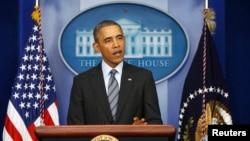 奥巴马总统3月6日在白宫就乌克兰局势发表声明