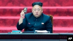 Pemimpin Korut Kim Jong Un tidak terlihat di depan publik sejak 3 September lalu (foto: dok).
