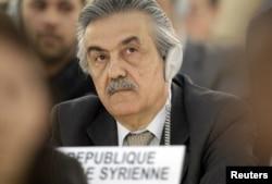 Dubes Suriah untuk PBB, Faysal Khabbaz Hamoui (Foto: dok).