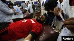 В госпитале Кветты. 10 января 2013г.