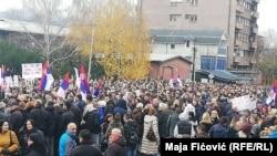 Protesti u Sjevernoj Mitrovici 27. novembra