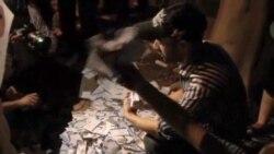 2012-05-29 粵語新聞: 埃及抗議者縱火焚燒沙菲克競選總部