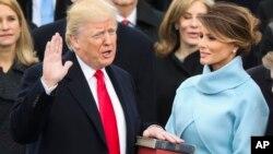 Інавгурація Дональда Трампа, січень 2017.