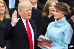 Інаугурація Трампа. 20 січня, 2017.