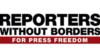 «Репортеры без границ» провели акцию протеста на границе Беларуси
