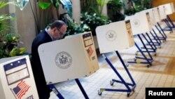 Glasanje na primarnim izborima u Njujorku