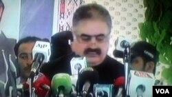 وزیرِ اعلیٰ بلوچستان نواب ثناء اللہ زہری (فائل فوٹو)