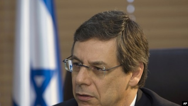 Israel's Deputy Foreign Minister Danny Ayalon speaks during an interview with Reuters in Jerusalem. (File Photo)