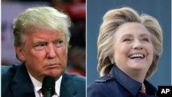 도널드 트럼프(왼쪽) 미 공화당 대통령 후보와 힐러리 클린턴 민주당 후보가 오는 9일 미주리주 세인트루이스 워싱턴대에서 열리는 '타운홀 미팅' 방식 2차 TV 토론에서 맞붙는다.