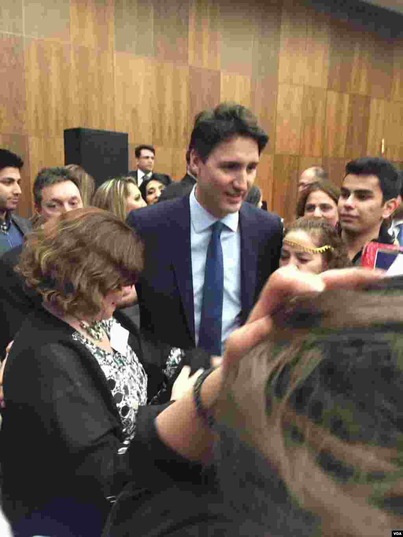 جشن نوروز در پارلمان کانادا. جاستین ترودو، نخست وزیر کانادا. عکس: آناهيتا بهمن پور