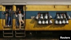 Các tai nạn xảy ra thường xuyên trong hệ thống hỏa xa Ấn Độ.