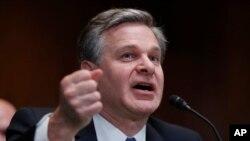 Direktor FBI Kristofer Rej svedoči u Kongresu