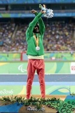 Taammiruu Demisee Paralympic Riyoo irratti fkn mormii Oromoo agarsiise,alaabaa faarsuu didee afaan qabate